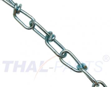 30m Schweißkette 3mm x 16mm kurzgliedrig DIN 5685 Stahlkette Kette verzinkt